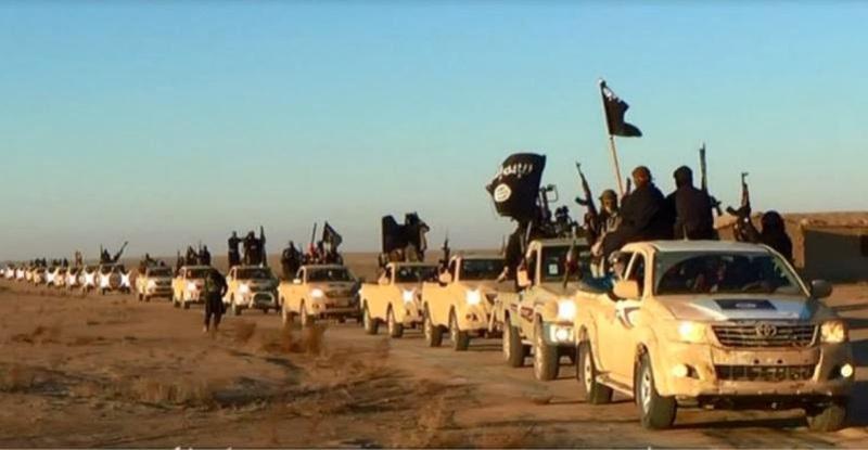ISIS convoy.  From: hamodia.com
