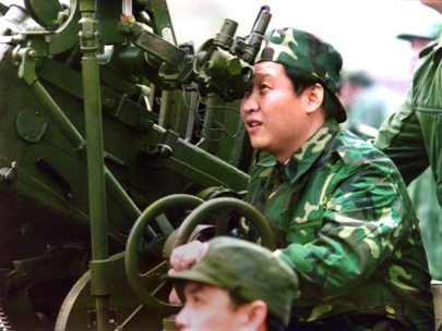 Xi, the young commissar. Copyright: China.org.cn