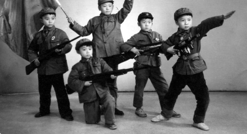 Little Red Soldiers. Cultural Revolution, China.